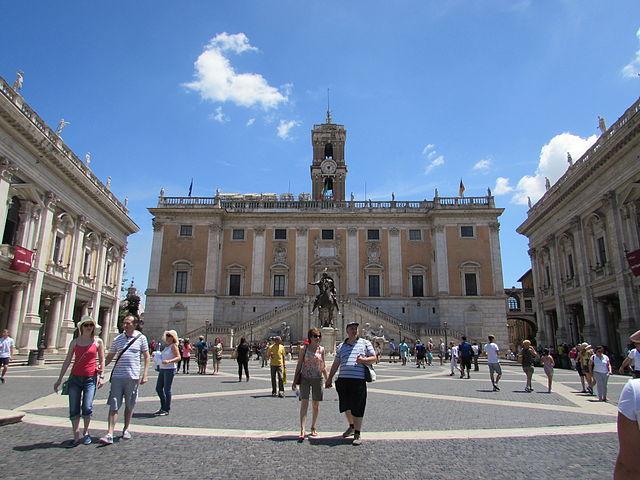 Капитолийская площадь в Риме