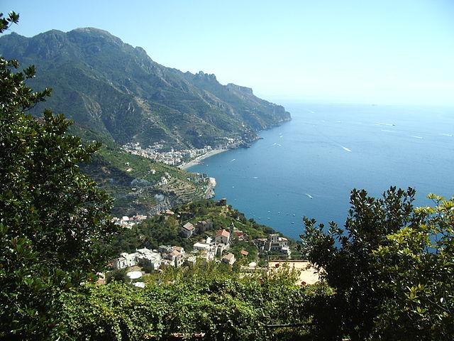 Город Равелло в Италии