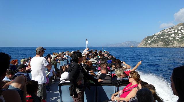 Как добраться из Неаполя в Амальфи на Пароме