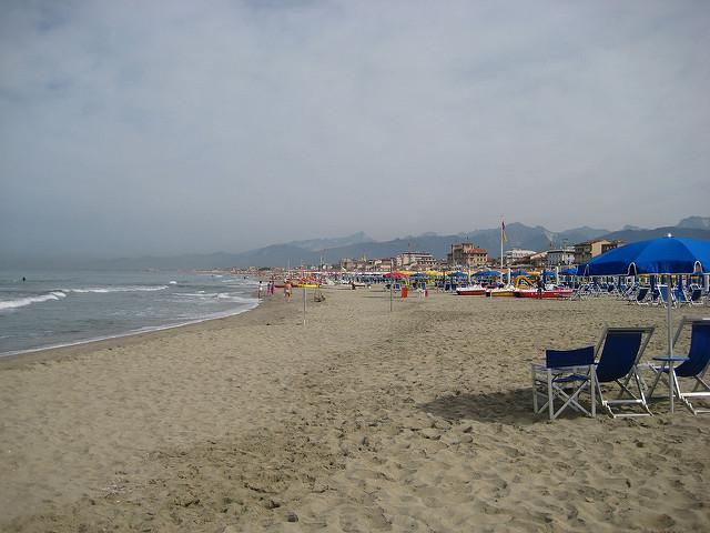 Пляжи Виареджо