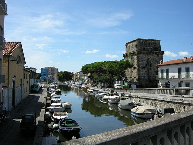 Достопримечательности в городе Виареджо, Италия