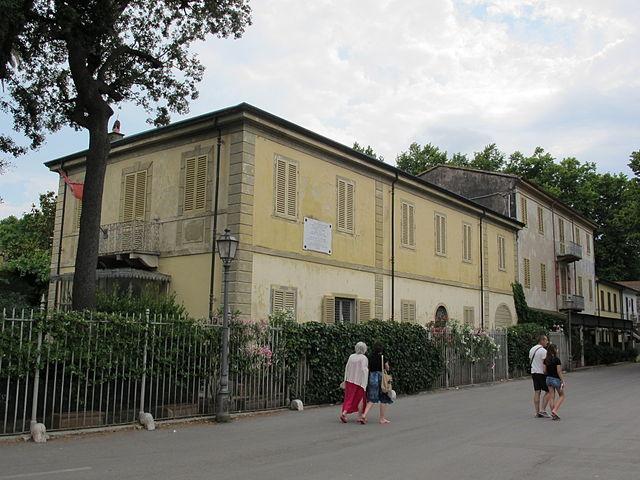 Вилла Пуччини в Виареджо, Италия