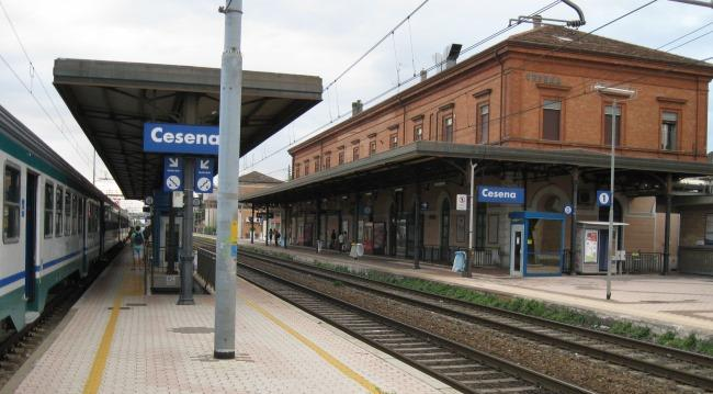 Из Римини в Чезенатико на поезде