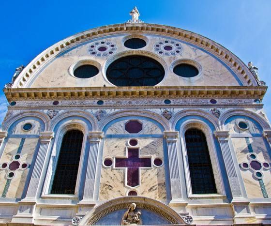 Церковь Святой Марии Чудотворной в Венеции