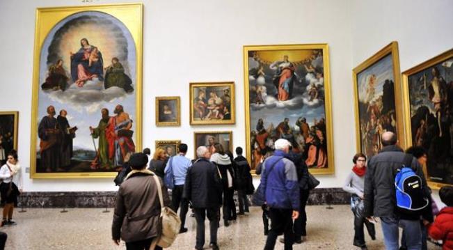 Произведения искусства собранные в Галерее Брера в Милане