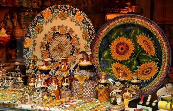 Магазин керамики в Венеции
