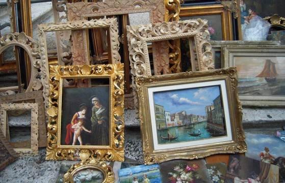 Антикварные рынки в Венеции