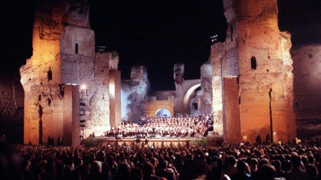 Римская опера в термах Каракаллы