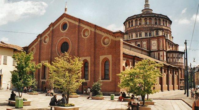 Достопримечательности Милана, монастырь Санта-Мария-делле-Грацие