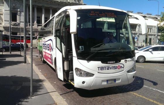 Автобус из аэропорта Милана до станции Милано Централе