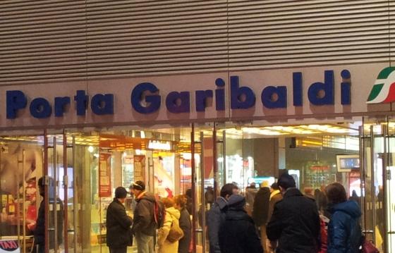 Вокзал Порта Гарибальди в Милане