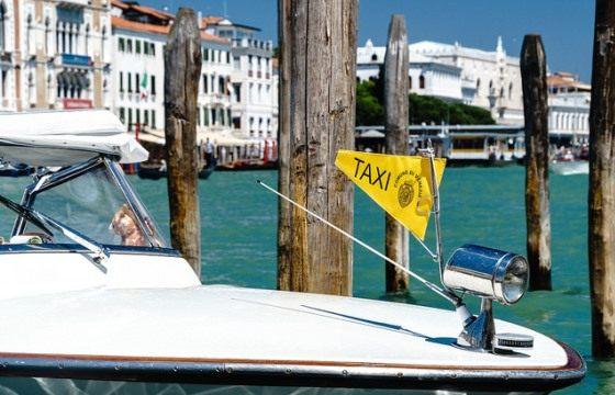 Водное такси из аэропорта Марко Поло до Венеции
