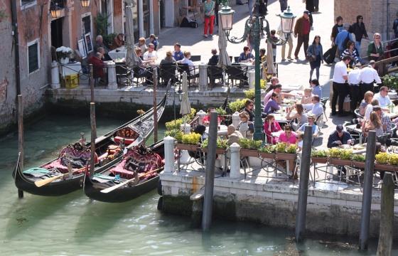 Цены в ресторанах Венеции