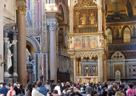 Базилика Сан Джованни ин Латерано в Риме