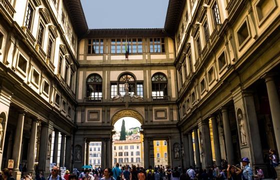 Примечательные музеи Флоренции, Галерея Уффици