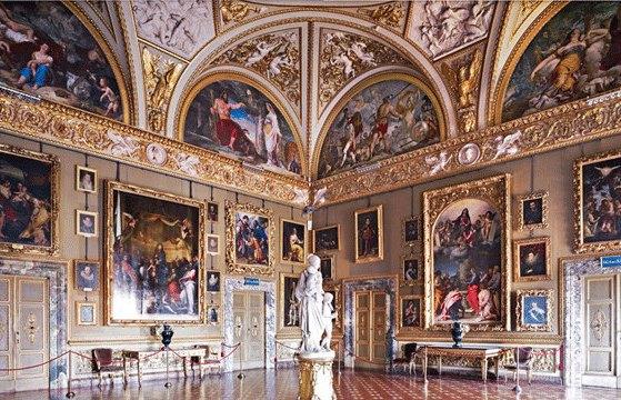 Палатинская галерея в Палаццо Питти во Флоренции