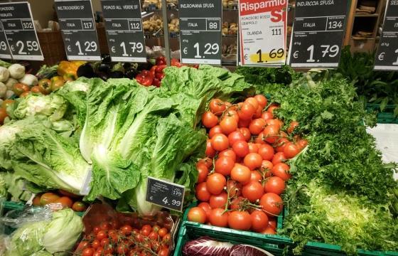 Цены в супермаркетах во Флоренции