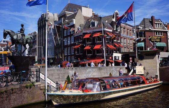 Прогулка на кораблике по каналам Амстердама