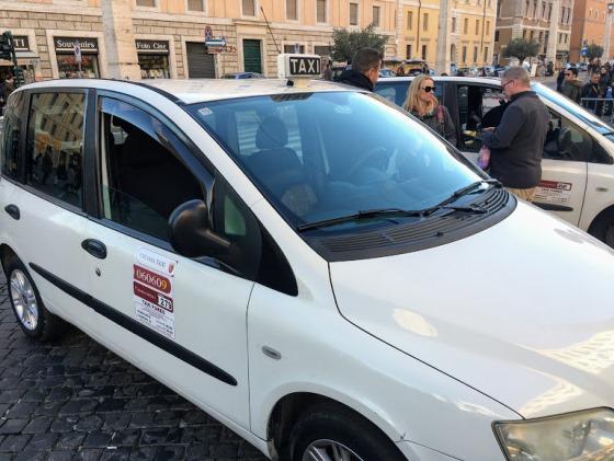 Такси из аэропорта Фьюмичино до Ватикана