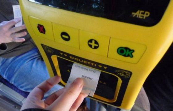 Билеты на общественный транспорт во Флоренции