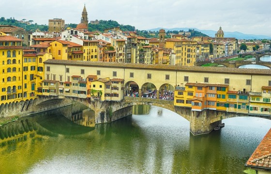 Старый мост Понте-Веккьо во Флоренции
