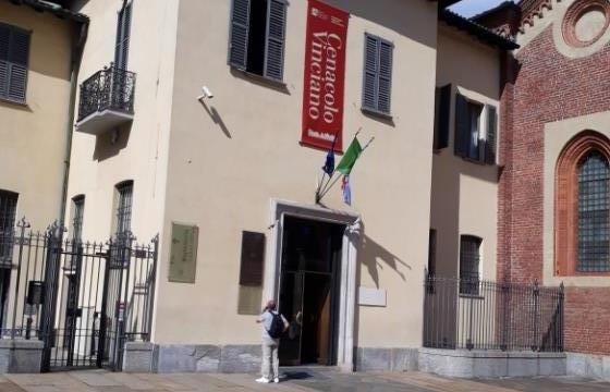 Фреска Леонардо да Винчи Тайная вечеря в Милане