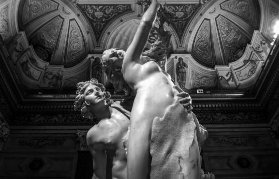 Скульптуры Бернини в Галерее Боргезе