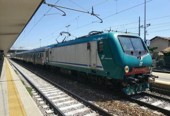 Поезд Римини-Болонья