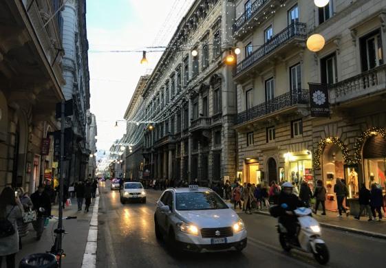 Виа дель Корсо в Риме