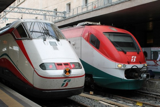 Скорый поезд Frecciabianca