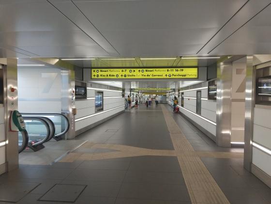 Центральный вокзал Болоньи