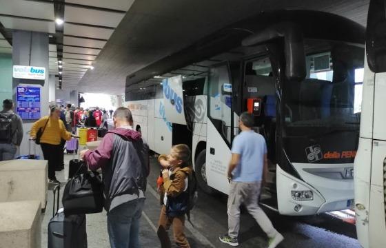 Автобус из аэропорта Генуи до города