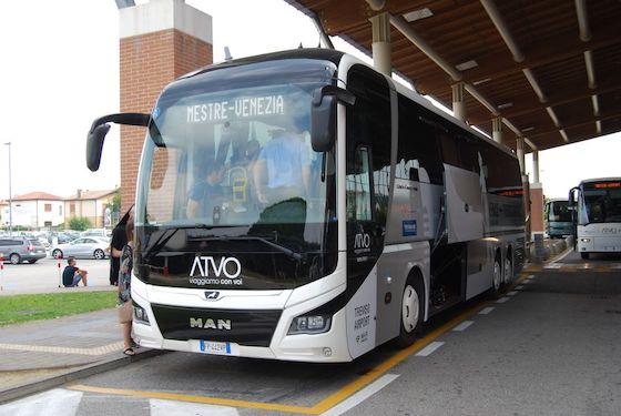 Автобусы из аэропорта Тревизо в Венецию и Местре